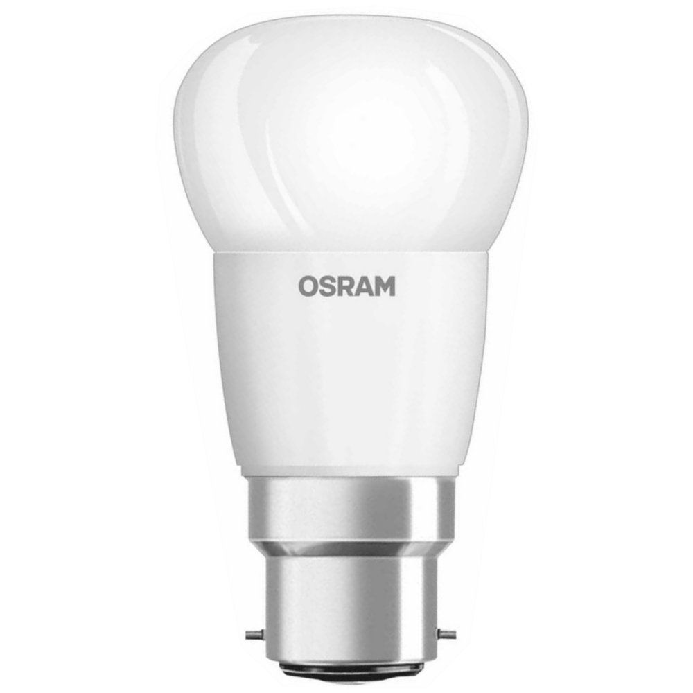 osram parathom led golfball frosted 5 7w 470lm bc 2700k. Black Bedroom Furniture Sets. Home Design Ideas