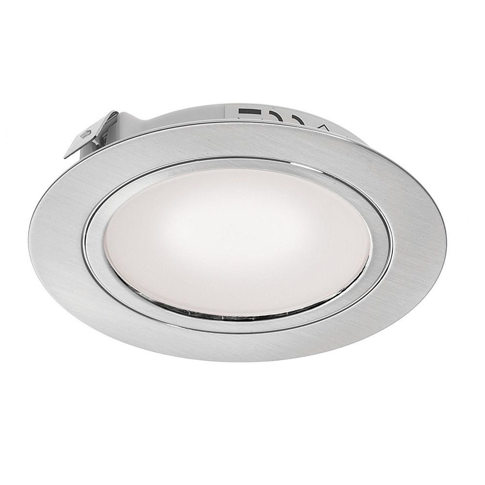 Stainless Steel Led Recessed Cabinet Light Dlk Ss Ww