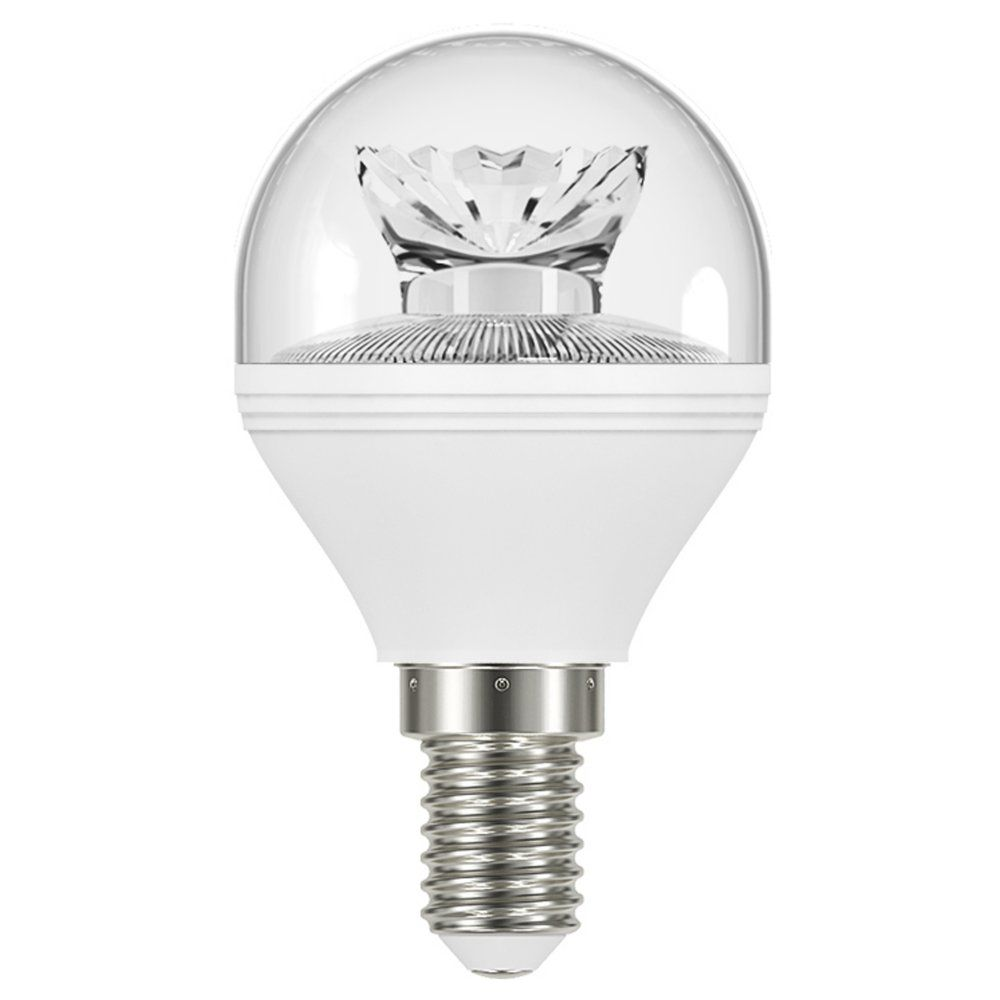 venture vled 6w clear dimmable golf ball ses e14 470lm. Black Bedroom Furniture Sets. Home Design Ideas