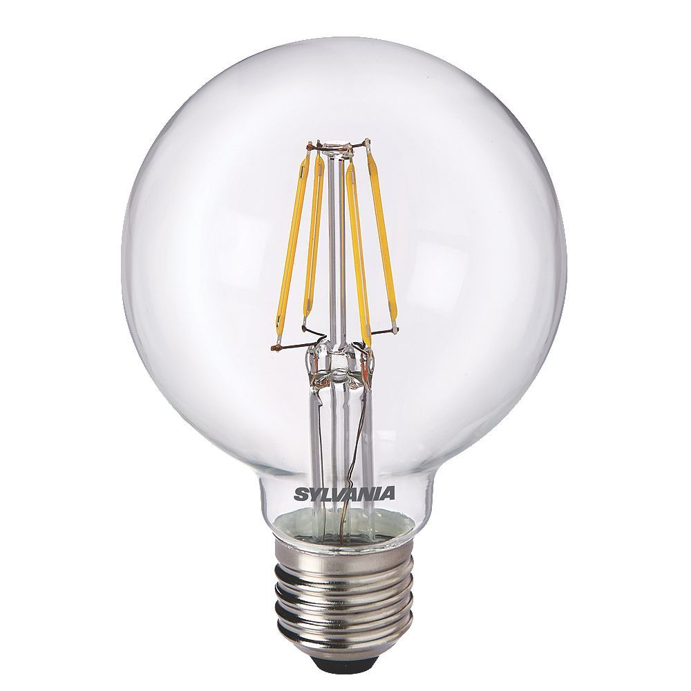 G80 Globe Led Filament Light Bulb Toledo Retrofit 5w Es