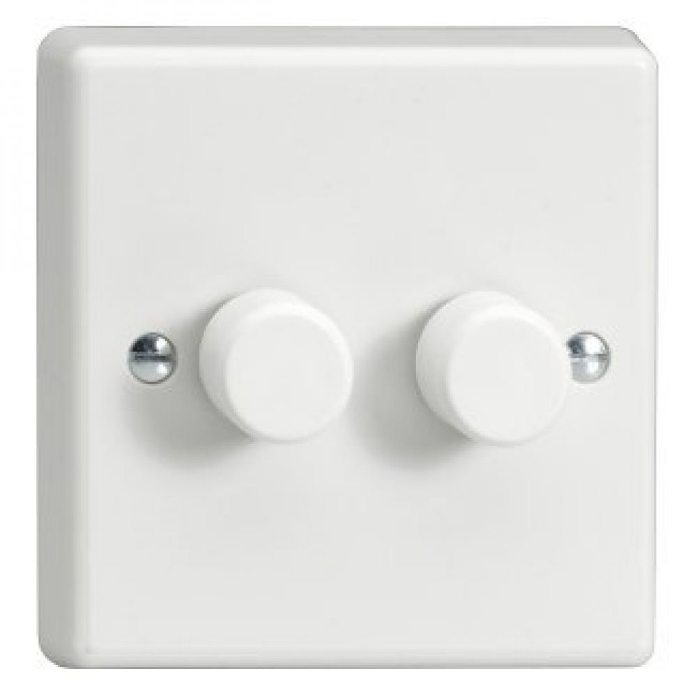 2 Gang 2 Way 1 X 0 Push Off Dimmer