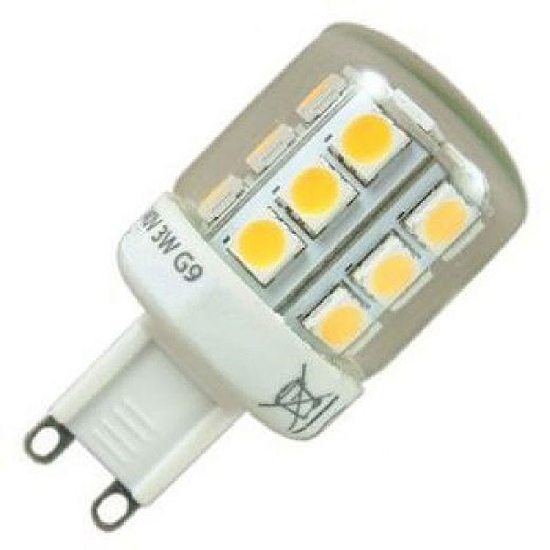 Led Wall Light Crompton: G9 LED 3W Warm White 3000K