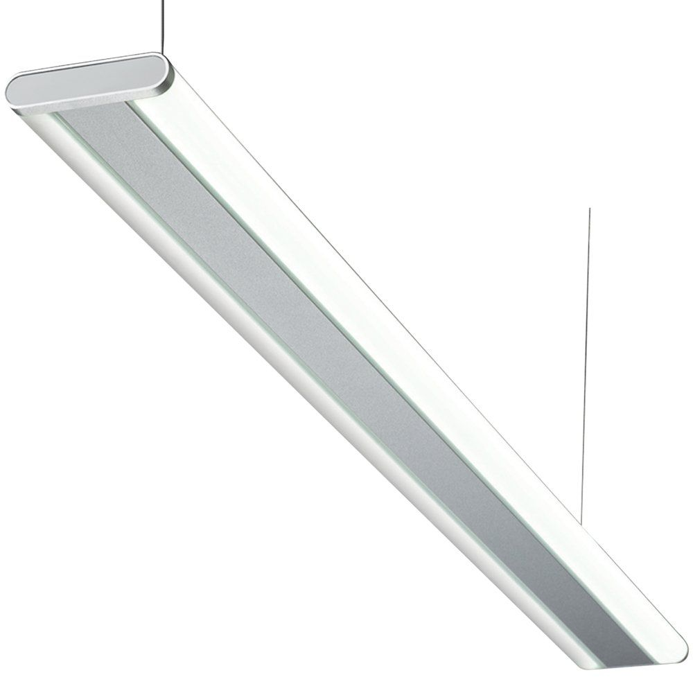 Knightsbridge spled2 36w led natural white suspended commercial spled2 36w led natural white suspended commercial ceiling light white mozeypictures Image collections