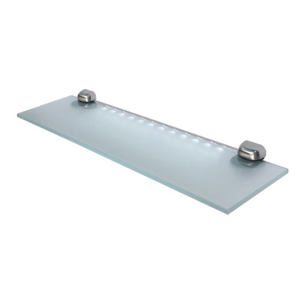 Verona Shelf Light LED Illuminated Glass White LEDs VERONAWH