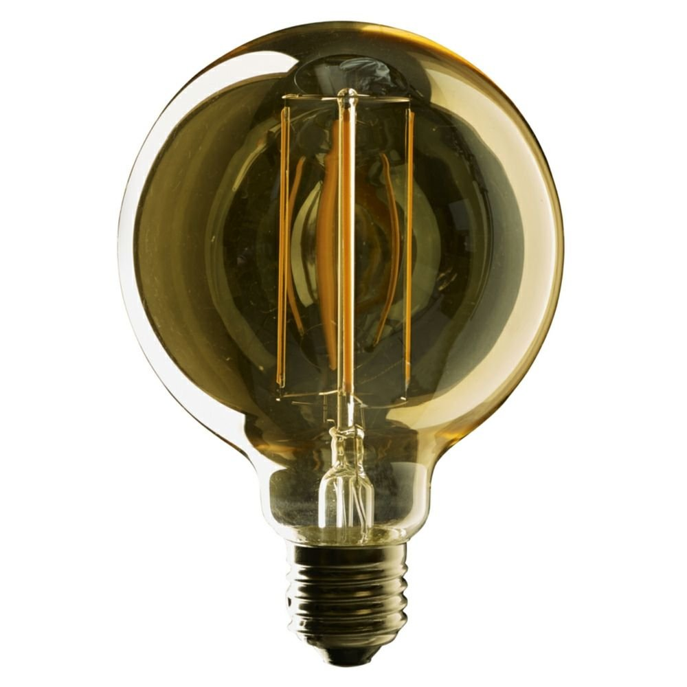 e27 vintage globe g95 led filament bulb. Black Bedroom Furniture Sets. Home Design Ideas