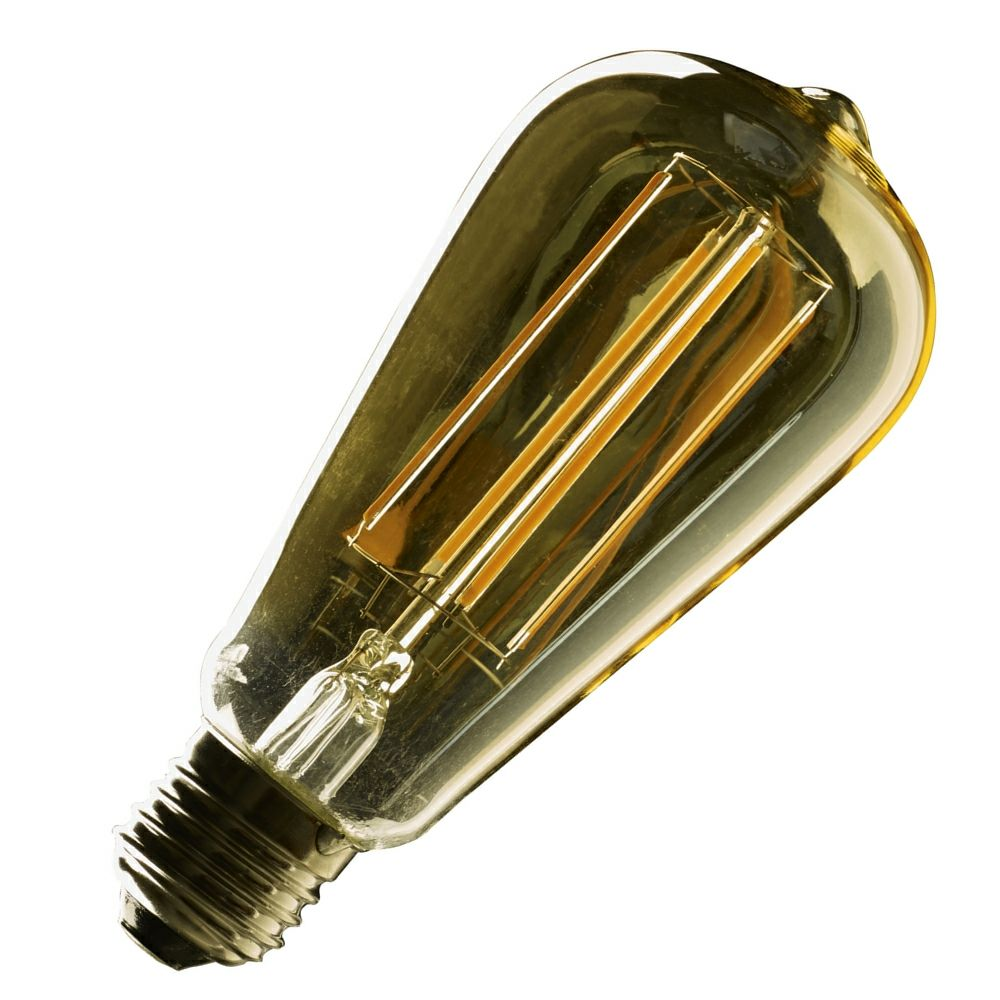 4 watt e27 vintage st64 led filament bulb. Black Bedroom Furniture Sets. Home Design Ideas