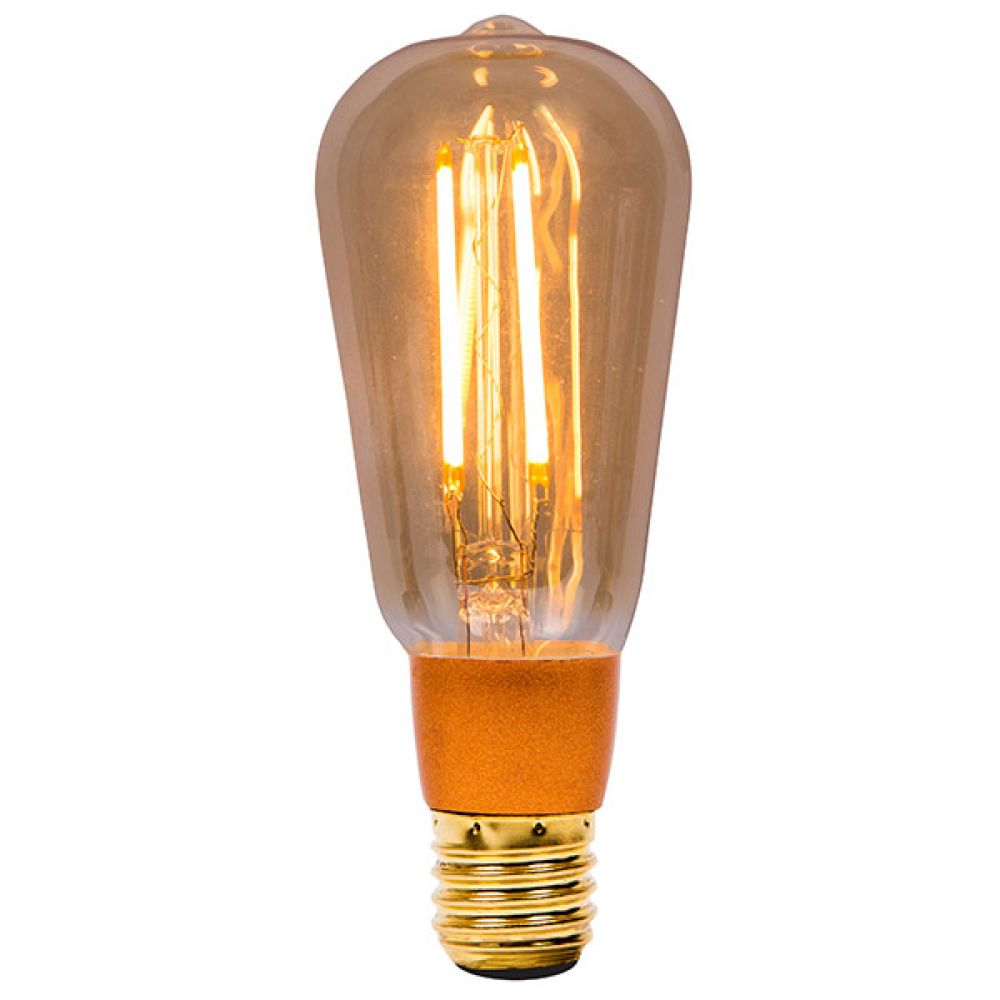 Bell Lighting Vintage St64 4w Led Dimmable Lamp Es E27 01469