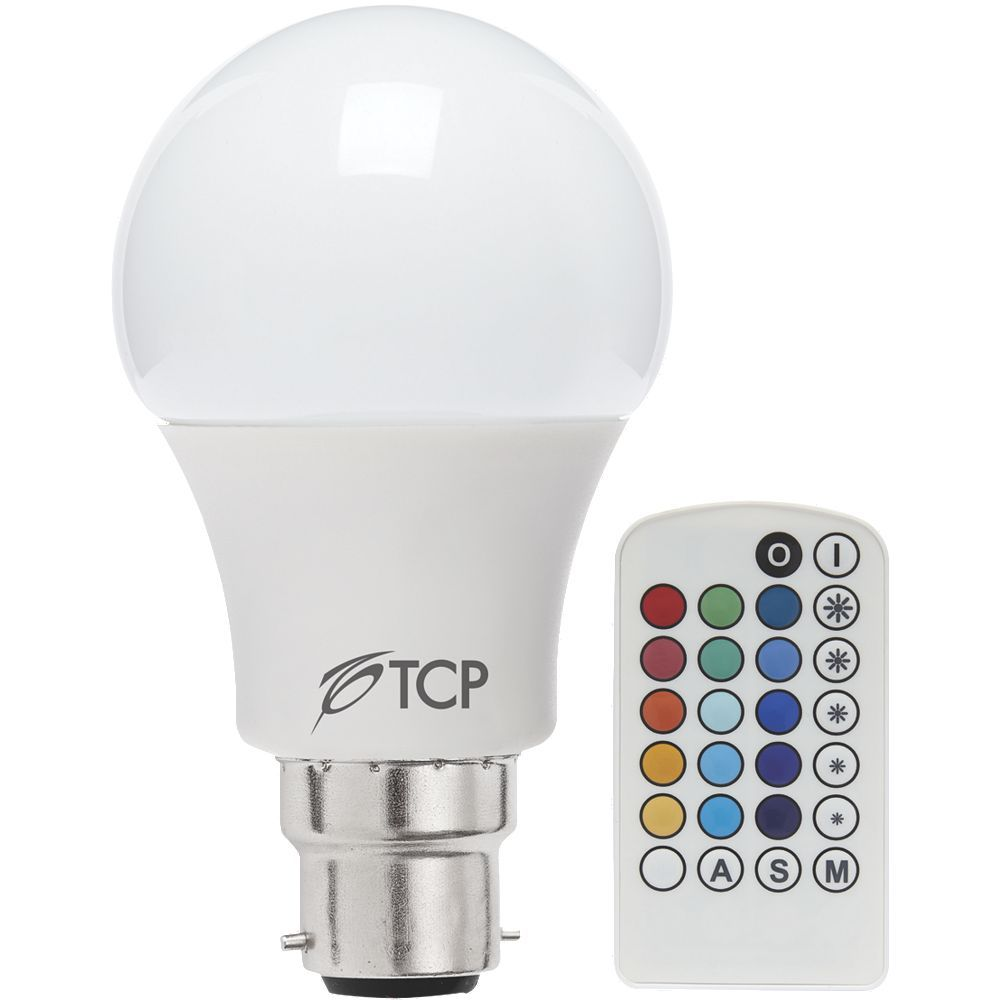 LED Lamp Bulb Classic GLS Colour Changing with Remote