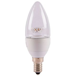 Bell 05077 Clear Dimmable 4W SES LED Candle bulb