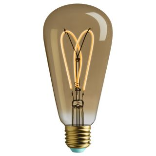 Plumen WattNott Whirly Willis Filament ST64 4W E27 2000k Dimmable