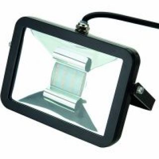 Deltech Slimline 10W Low Energy LED Floodlight - Blue